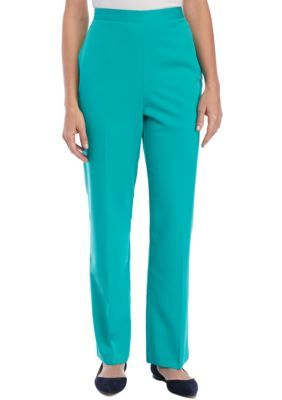 Alfred Dunner Montego Bay Jade Proportion Pant | Products