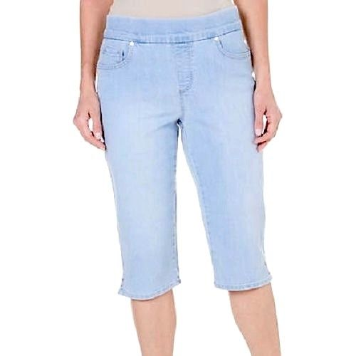 NEW Gloria Vanderbilt Women's Avery Skimmer Stretch Capri Pants