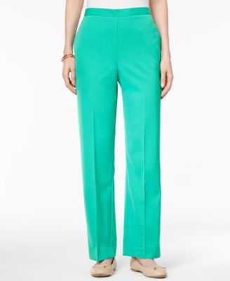 Alfred Dunner Montego Bay Petite Pull-On Pants - Pants & Capris