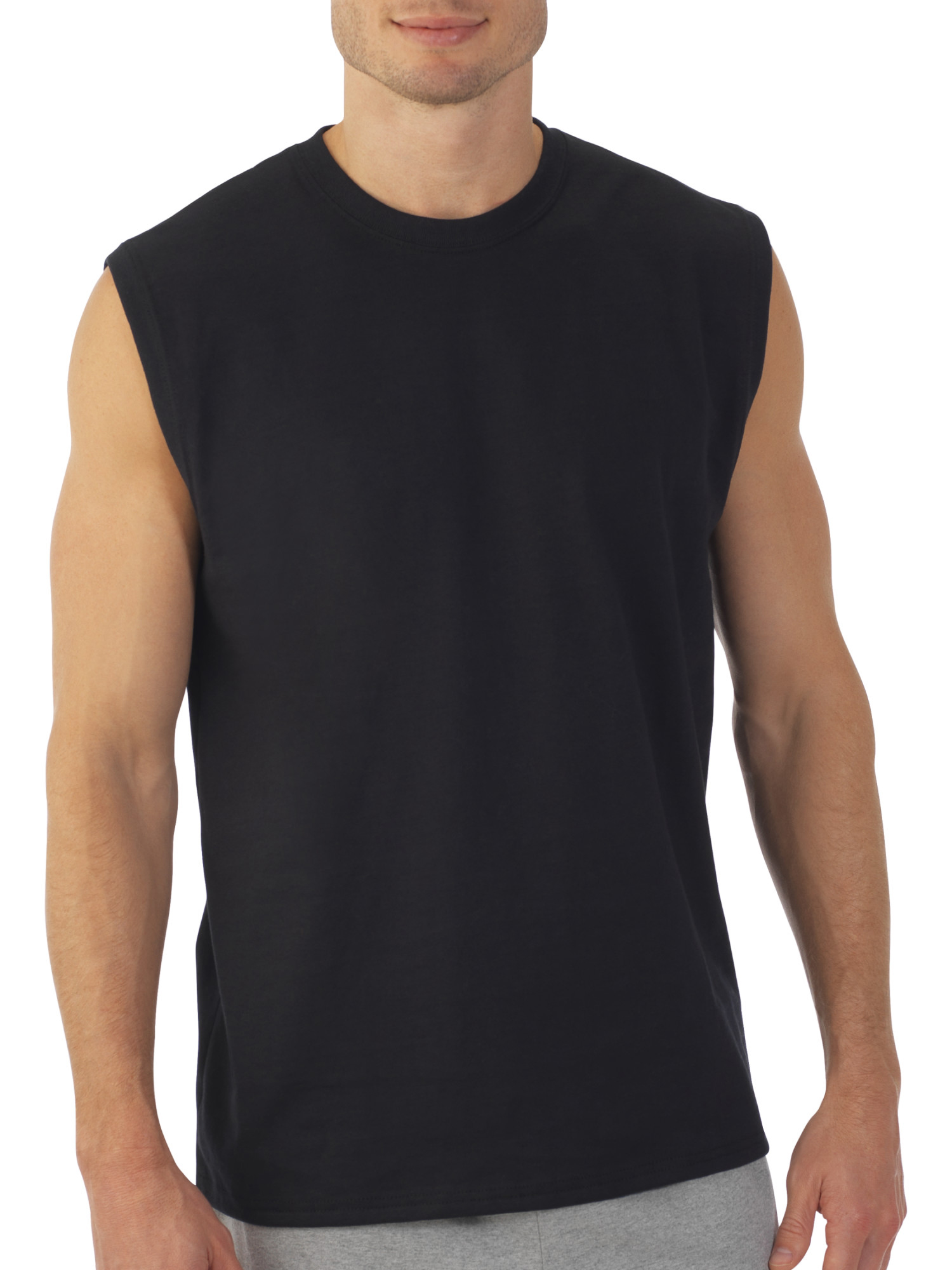 Fruit of the Loom - Men's Dual Defense UPF Muscle Shirt, Available