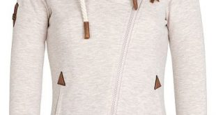 NAKETANO Jedi Path - Sweat Jacket for Women - Khaki/Beige - Planet