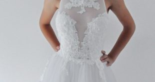 Sexy Neckholder Wedding Dress - Wedding dresses Brisbane