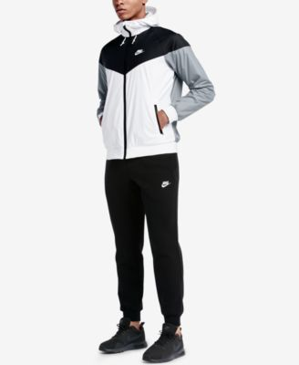 Nike Men's Windrunner Colorblocked Jacket & Fleece Jogger Pants
