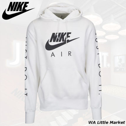 Nike 2018-19AW Unisex Street Style Long Sleeves Cotton Hoodies by
