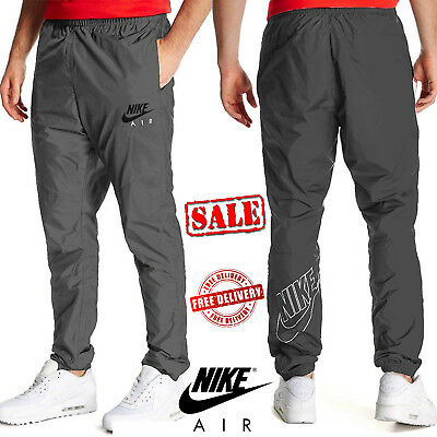 NIKE AIR MEN'S Woven Track Bottoms Jogging Trousers Sports Running