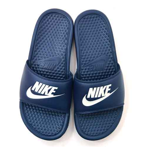 Nike Benassi JDI Slide Navy White u2013 Side Step