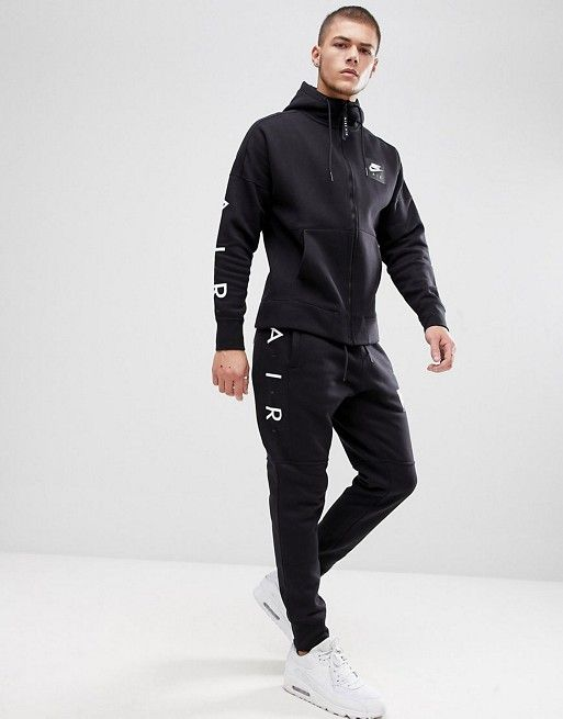 Nike Air Skinny Tracksuit in Black | STEEZE (Gentleman) in 2019