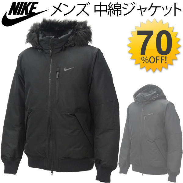 APWORLD: Nike NIKE men's cotton jacket jackets hood with a fur