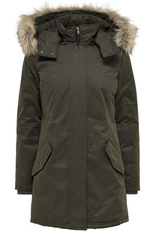 Only faux fur hood women's parkas, compare prices and buy online
