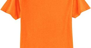 Safety Orange or Green Tee's - Hi-Visibility T-Shirts in Sizes S-6XL
