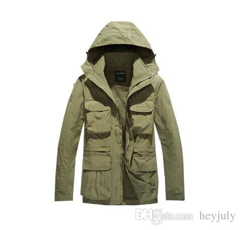 Brand Designer Winter Outdoor Jackets Army AFS JEEP Jacket Men