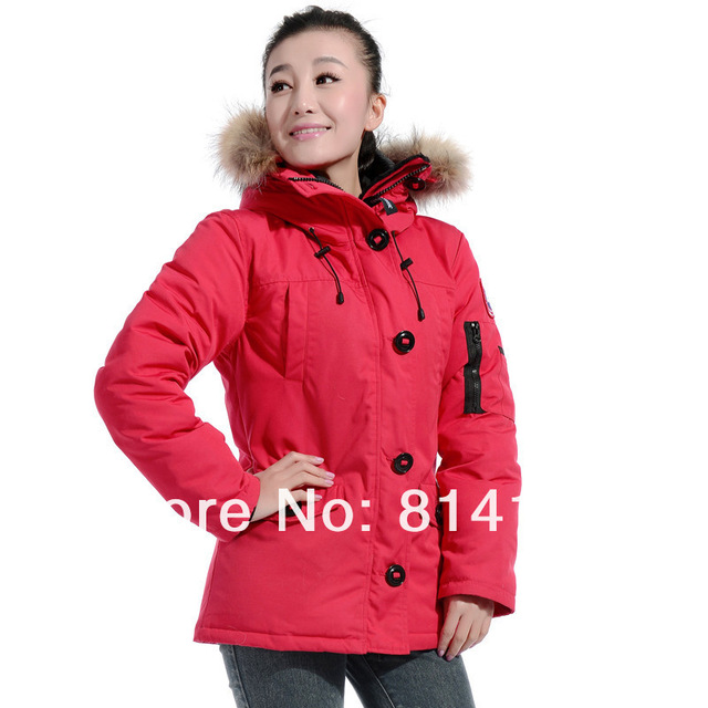 free shipping newest popular outdoor winter coat Women parka jacket