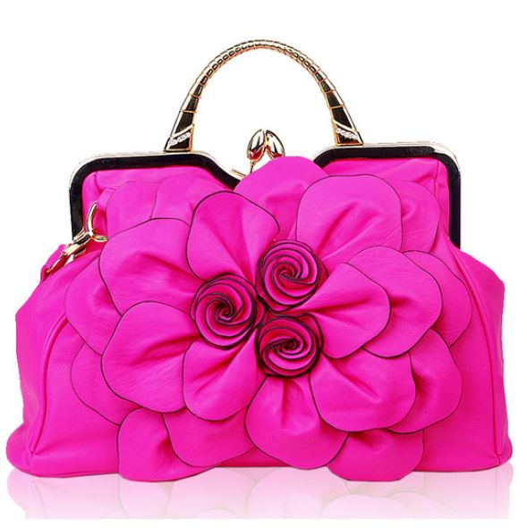 Luxury Hot Pink Purse For A Luxurious Woman on Luulla