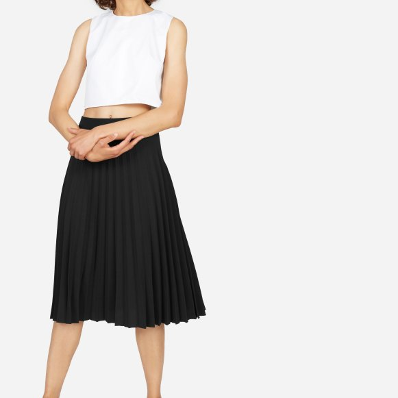 Women's Pleated Midi Skirt | Everlane