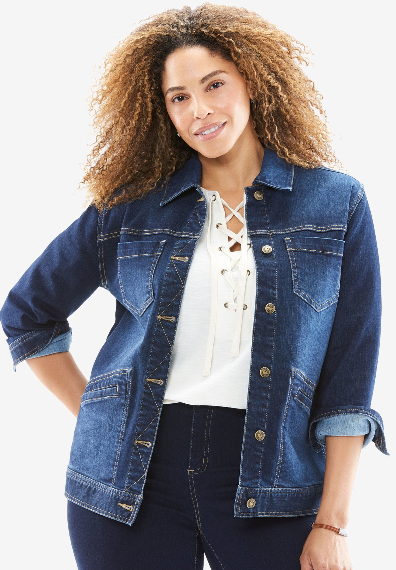 Denim Jacket | Plus Size Jackets | Woman Within