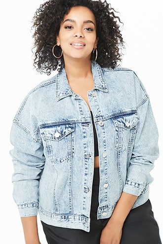 Plus Size Jackets: Blazers, Denim & More | Plus + Curve | Forever 21