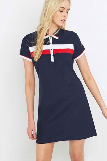 Urban Outfitters x Fila Serena 1980s-style polo dress | Clothes