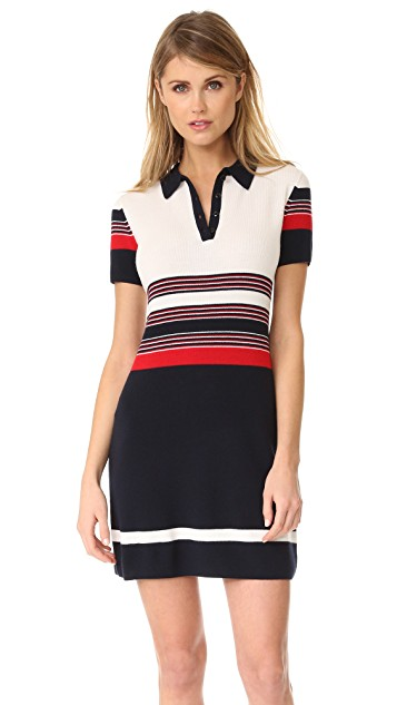 Rag & Bone Krista Stripe Polo Dress | SHOPBOP