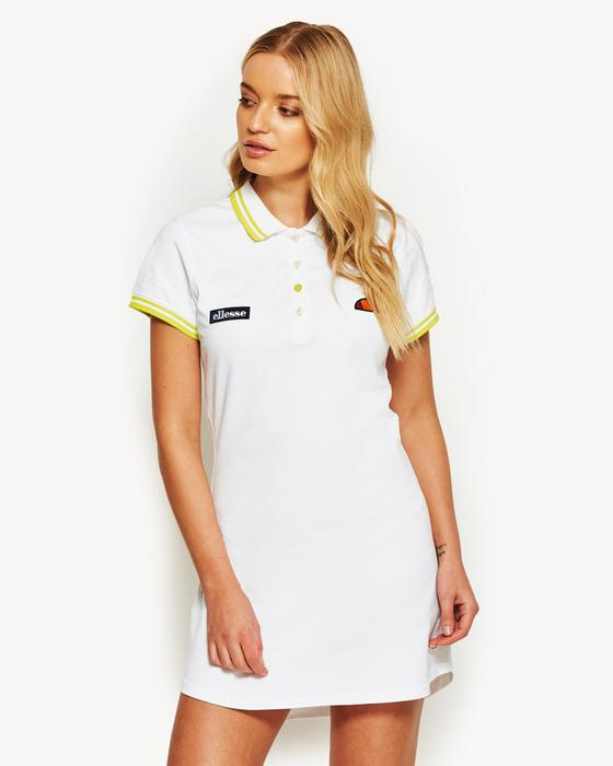 Cavulio Polo Dress White | Free Uk Delivery & Returns | ellesse.co