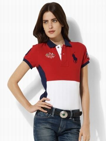 ralph lauren polo hat, Polo Ralph Lauren Short Sleeve T-Shirt Women
