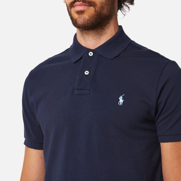 Polo by Ralph Lauren Shirts | Navy Blue Large Polo Ralph Lauren Polo