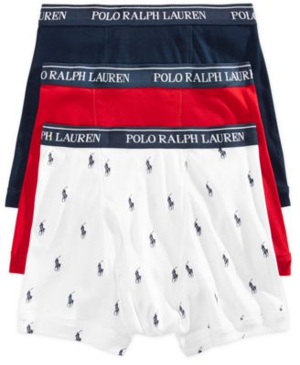 Polo Ralph Lauren Men's Underwear, Boxer Briefs 3 Pack & Reviews