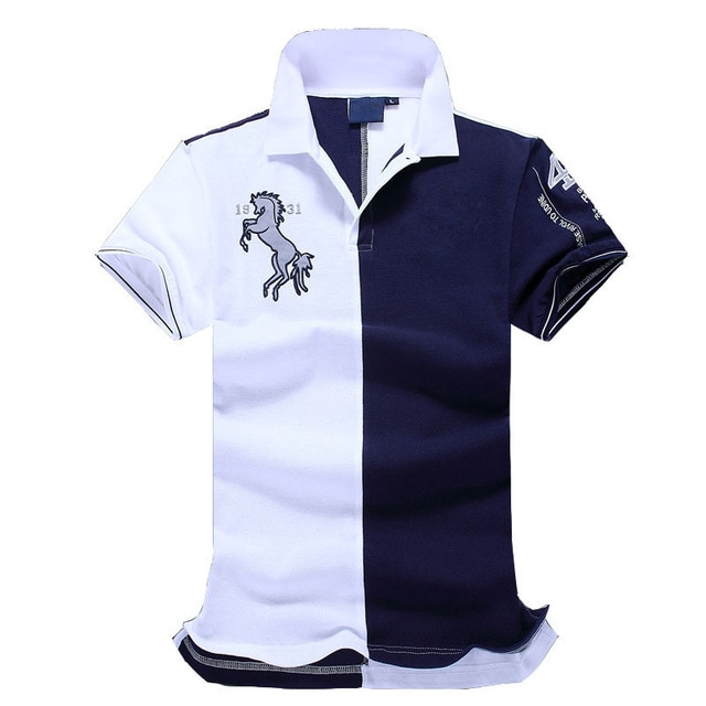 2017 New Top good Quality embroidery men Men brand clothing polo