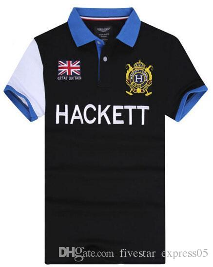 2019 London Hackett Racing Casual Polo Shirt Men HKT Sport Polo