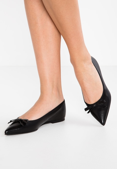Pretty Ballerinas COTON - Ballet pumps - black - Zalando.co.uk