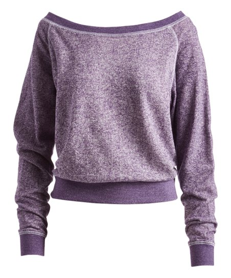 Pima Apparel Purple Pullover - Women | Zulily