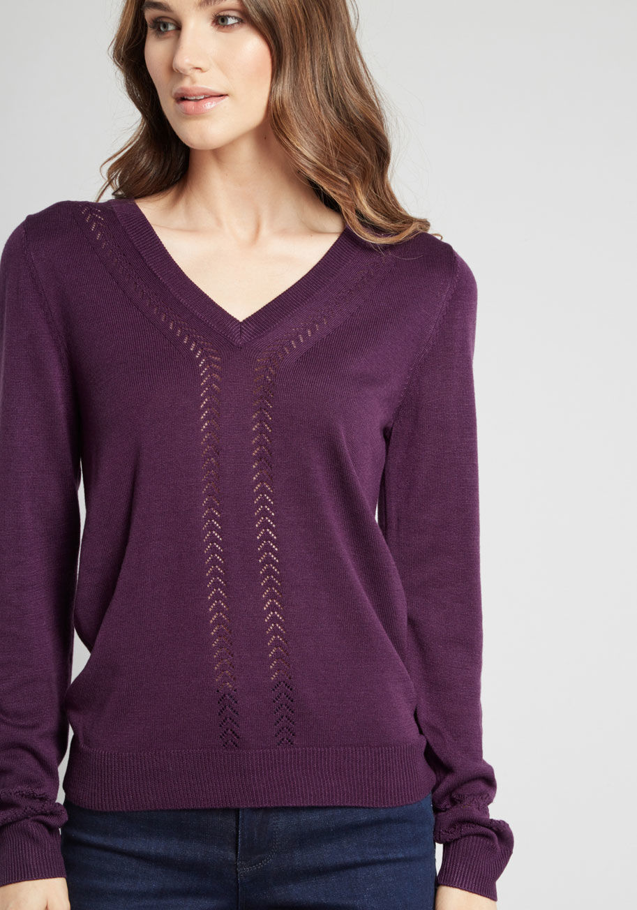 Purple Sweaters for Women | ModCloth