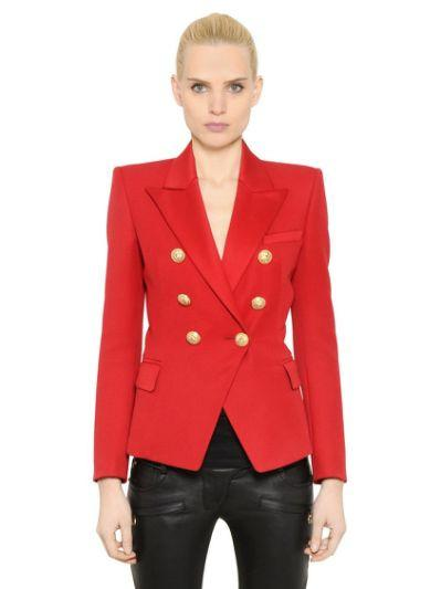 Red Blazer with Gold Hardware - The Fashion Dollz