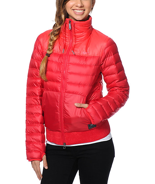 Nike 800 Red Down Jacket | Zumiez