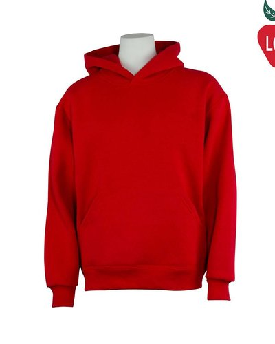 Soffe Red Hooded Pullover Sweatshirt #9289 - Merry Mart Uniforms