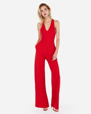 Strapless Sweetheart Neck Jumpsuit | Express