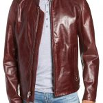 The red leather jacket is more popular than ever!