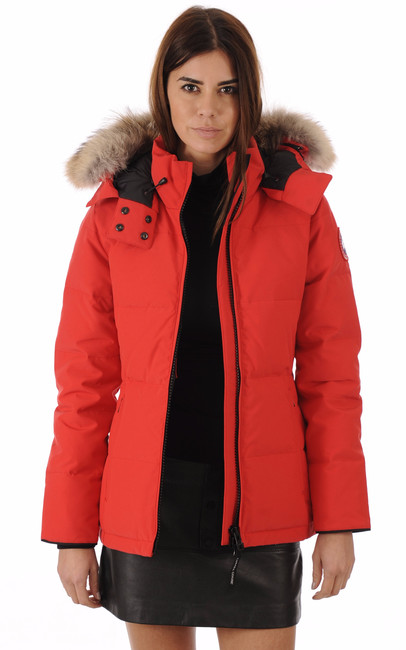 Canada Goose Chelsea Parka - Women's - Red - Canada Goose UK Brand