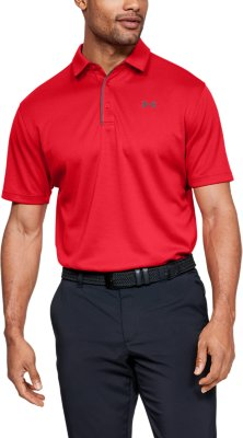 Men's Red Polo Shirts | Under Armour US