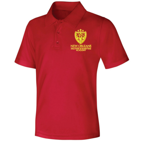 NOMMA Red Polo Shirts u2013 Poree's Embroidery