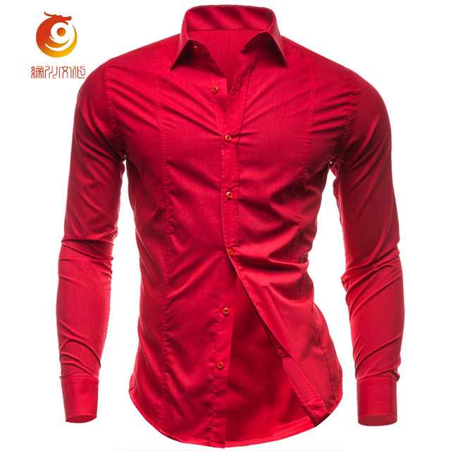 A red shirt stands for self-confidence and strength