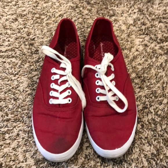 American Eagle Shoes | 3 For 15 Red | Poshmark