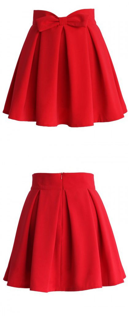 red skirt bling bling. makes u look sooo glowing.see more on choies