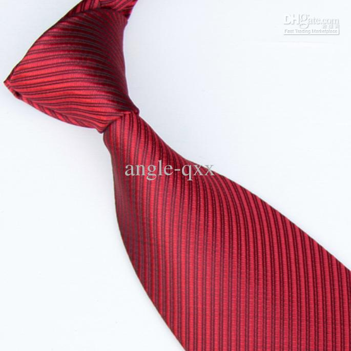 Men Ties Solid Color Ties Neckties Red Tie Shirt Tie Neck Tie