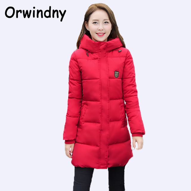 Red winter jackets
