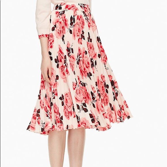 kate spade Skirts | Rosa Pleated Skirt Worn Once | Poshmark