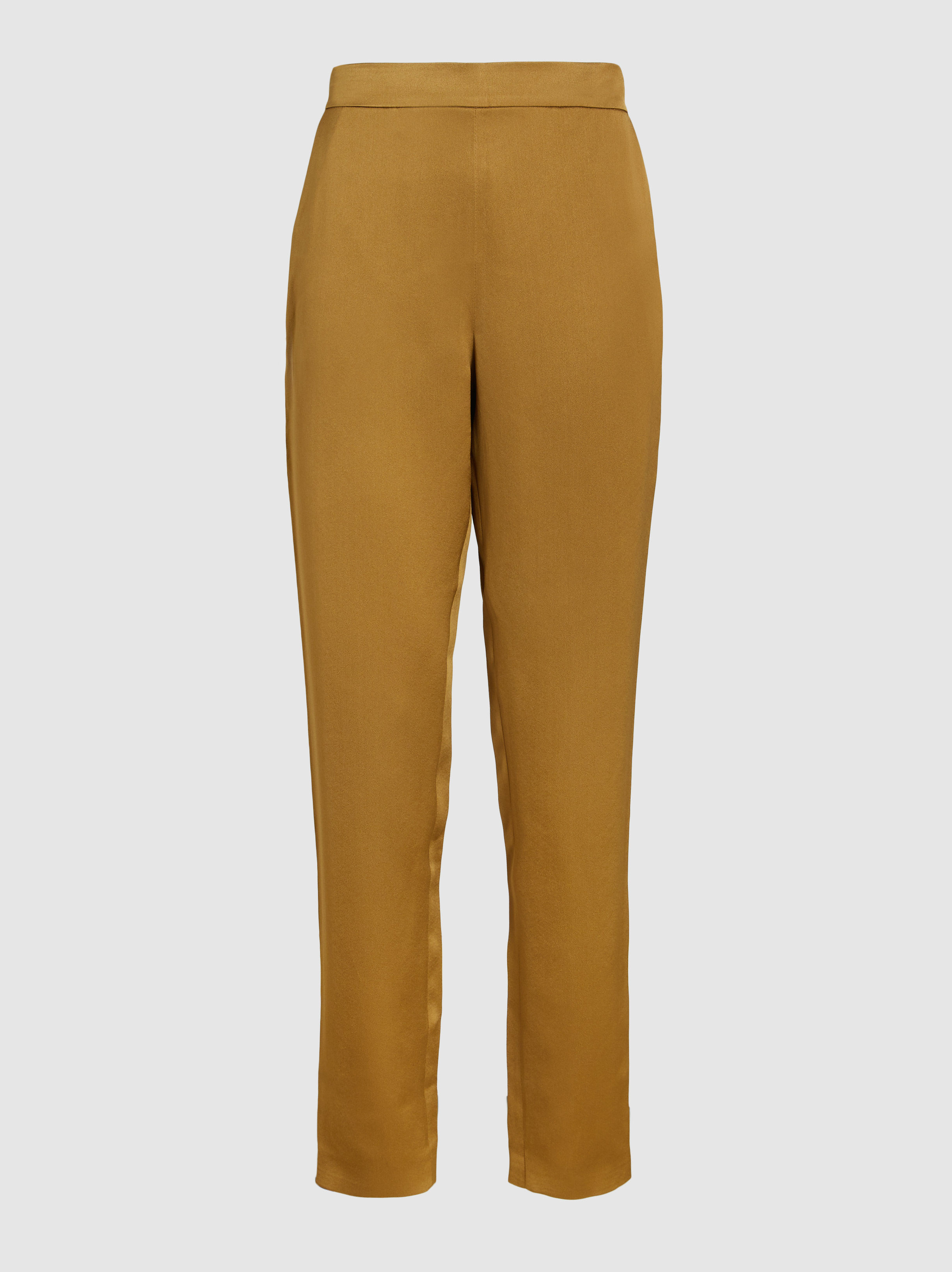 LAYEUR - Rosa Tapered Crepe Trousers | The Modist