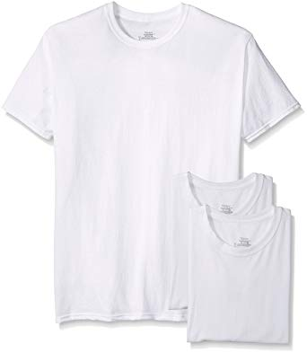 Amazon.com: Hanes Men's 3-Pack Tagless Crew Neck T-Shirt: Clothing