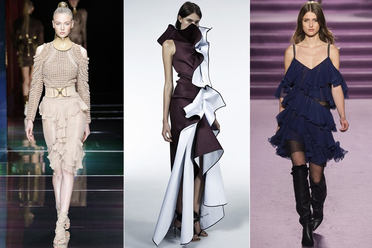 10 Styles In Ruffle Fashion That Have Caught Our Fancy - Look At
