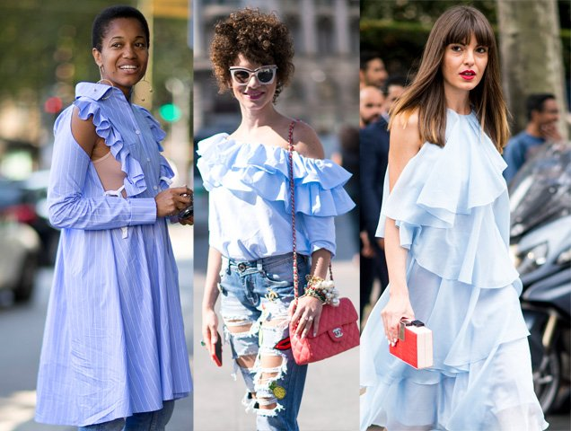 Spring Fashion Trend: How to Wear Ruffles and Frills 2017