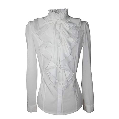 Ruffle Shirt: Amazon.com